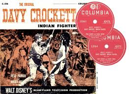 Image result for images of walt disney's davy crockett indian fighter