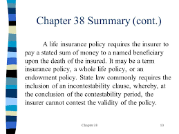 Term life, whole life, and universal life are just three of the most basic kinds. Chapter 381 The Contract The Insurance Contract The Application Duties Of Parties Statutory Provisions Generally Part Of Contract By Express Stipulation Ppt Download