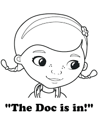 Printable Doc Coloring Pages The Is In Page Free Printable Doc