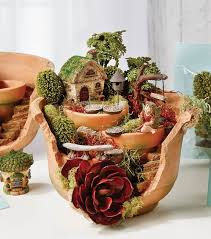 fairy garden pots. Broken Pot Fairy Garden Pinterest 3 Pots A