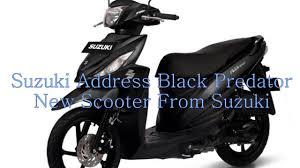 2018 suzuki address. modren 2018 suzuki address black predator new scooter from and 2018 suzuki address