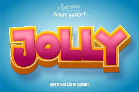 An astronaut shooting into space with it's besides using svg to make path animation sketching a shape, you can use it on typography like what this creator made. Jolly Text 3d Editable Font Effect 517921 Plugins Design Bundles In 2020 Design Bundles 3d Text Effect Photoshop 3d Text Effect