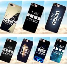 qdowpz i am sherlocked wallpaper for iphone 4 4s 5 5c 5s se 6 6s 7 8 plus x on luxury phone accessories case in half wrapped case from cellphones