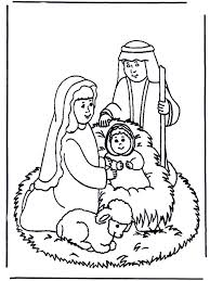 Small Picture Nativity story coloring page Sunday School Pinterest Sunday