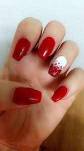 Canada Day Gel Nail Designs Canada Day Nails Gel Polish Gel Nail Art Designs Simple