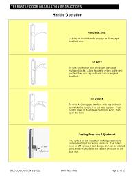 Efco Corp Doors D500 Series Wide Stile Door 1 3 4 Standard