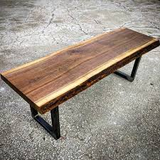 Black Walnut Coffee Table Live Edge Black Walnut Coffee Table By Barnboardstorecom This