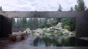 Echo Landscape Design Echo House On Behance Gardens And Landscaping Steel