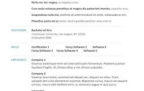 Word Resume Template Mac Fearsome Word Resume Template Modern ...