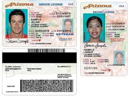 New Process Now License Redesigned Driver Effective Arizona's