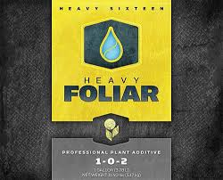 Heavy Sixteen Feeding Chart Heavy 16 Foliar 4 Liter