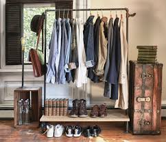 clothes racks are a wonderful thing to have in your room without a closet whether it s one you ve made there are so many tutorials for doing this on the