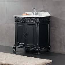 black bathroom sink decors inch antique black single sink bathroom vanity with marble top black bathroom