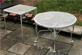 Vintage Woodard Wrought Iron Patio Furniture — All Home Design Ideas