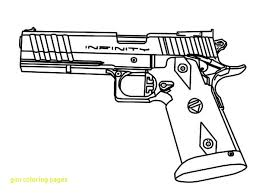 Coloring Pages Nerf Gun Coloring Pages Free Stunning Tldregistry