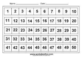 6 Best Images Of Printable Number Grid 1 50 Printable