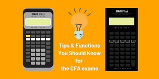 ba ii plus guide how to use your cfa