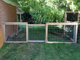 Wire Garden Fence Gate Home Outdoor Decoration