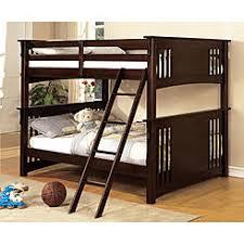 Furniture of America Blumfield Full over Full Bunk Bed