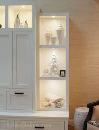 low voltage cabinet lighting. display hutch with low voltage lighting lighted collectible cabinet e