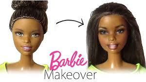 sometimes even dolls need a makeover