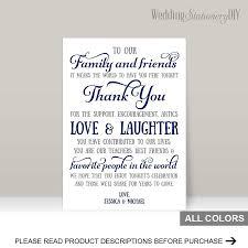 Navy Wedding Reception Thank You Card Templates 2480758 Weddbook