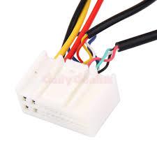 2pcs radio install car wire wiring harness cable for hyundai ix35 2pcs radio install car wire wiring harness cable for hyundai ix35 kia k2 k5 4 4 of 5