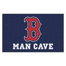 mlb boston red sox man cave ultimat 5 ft x 8 ft indoor