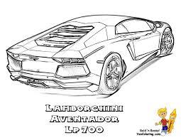 Small Picture Lamborghini Gallardo Coloring Page In Aventador Coloring Pages