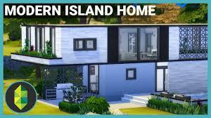 Sims House Design Modern Island Home The Sims 4 House Build