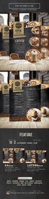Coffee Shop Brochure Template 24 Best Coffee Shop Flyer Print Template PSD Images On 6