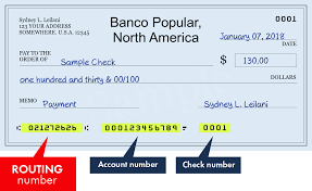 021272626 Routing Number Of Banco Popular North America In New York