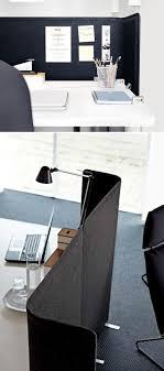 bekant screen for desk gray
