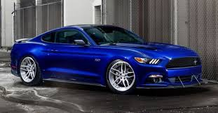 This Right Here Is A Tuned 2016 Ford Mustang GT, With No Fewer Than 666 WHP  Driving The Rear Axle, Which Happens To Feature Set Of 20\ C
