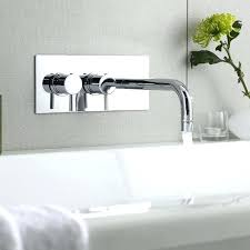 wall mounted bathtub faucets modern wall mounted faucet best small bath modern tub fillers images on