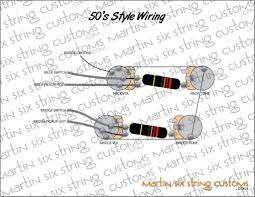 50 s wiring for 4 conductor humbucker my les paul forum the sd diagrams don t depict 50 s wiring here s what you want