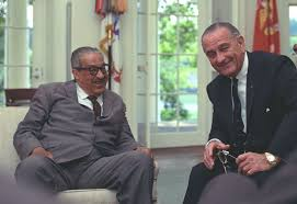 lbjs office president. Lbjs Office President. History Calling: LBJ And Thurgood Marshall On The Telephone - Not President M
