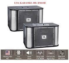 Loa karaoke JBL RM10II (bass 25cm) - Âm Thanh AHK