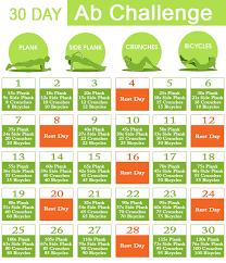 30 Day Ab Challenge Steempeak