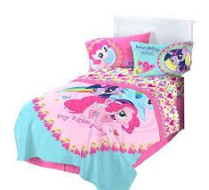 my little pony bedding full blanket inch by inch my little pony crib bedding set