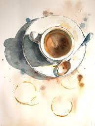 Whether you prefer a dark espresso, frothy latte, or just take your coffee black, we all know this rich, earthy brew deserves to be celebrated. Watercolor Coffee Painting A Complete Step By Step Tutorial