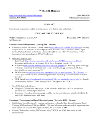 Employment Resume Samples Resume Template Resume Samples For Self Employed Individuals 19