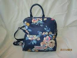 cath kidston bag backpack shoulder bag blue fl