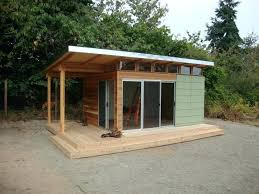 small outdoor office. Outdoor Office Plans Container House Modern Shed Fab Kit X Coastal Kits Who Small