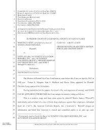 Form Samples Pleading Paper California Superior Court Template