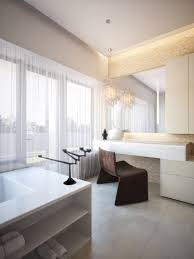 small modern bathroom. Modern Small Bathroom Remodel Idea Incorporating Large Windows