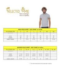 Polo Size Chart Women S T Shirts Size Chart Men Women Boys And Girls
