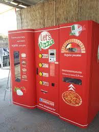 Mj Vending Machines Simple A Vending Machine That Bakes Fresh Pizza Imgur
