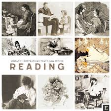 Vintage Illustrations 18 Vintage Photos And Illustrations That Show People Reading