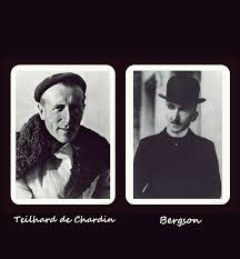 Resultado de imagen de Bergson Teilhard de chardin
